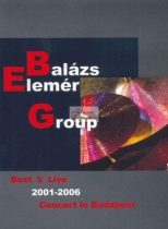 dvd Balázs Elemér Group: Best Live