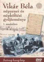 dvd Vikár Béla Népzenei Gyűjtemény