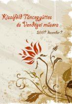 dvd Kisalföld Táncegyüttes és vendégei műsora 2007