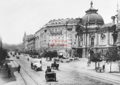 képeslap Anno Vígszínház