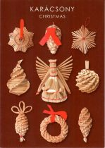 képeslap Karácsony