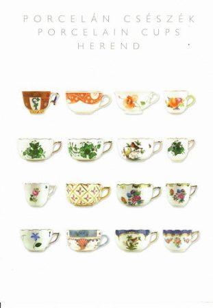 képeslap Porcelán csészék  Herend