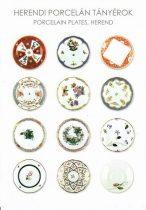 képeslap Porcelán tányérok  Herend