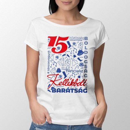 """Póló """"Kellékbolt15"""" Női fehér XL"""